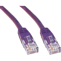 Cables Direct 25cm Cat 6 Cable  - Violet