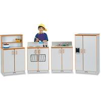 Jonti-Craft - Rainbow Accents Play Kitchen Set