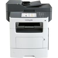 Lexmark MX611DE Laser Multifunction Printer - Monochrome - Plain Paper Print - Desktop