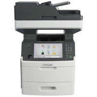 Lexmark MX711DE Laser Multifunction Printer - Monochrome - Plain Paper Print - Desktop