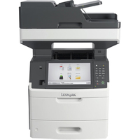 Lexmark MX711DHE Laser Multifunction Printer - Monochrome - Plain Paper Print - Desktop
