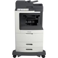 Lexmark MX810DFE Laser Multifunction Printer - Monochrome - Plain Paper Print - Desktop