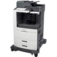 Lexmark MX810DME Laser Multifunction Printer - Monochrome - Plain Paper Print - Desktop