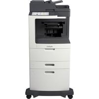 Lexmark MX810DXFE Laser Multifunction Printer - Monochrome - Plain Paper Print - Desktop