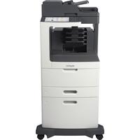 Lexmark MX810DXME Laser Multifunction Printer - Monochrome - Plain Paper Print - Desktop