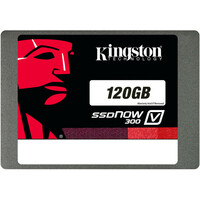 "Kingston SSDNow V300 120 GB 2.5"" Internal Solid State Drive - SATA - 450 MB/s Maximum Read Transfer Rate - 450 MB/s Maximum Write Transfer Rate - 1 Pack"