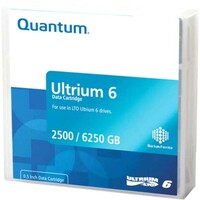 Quantum MR-L6LQN-BC Data Cartridge LTO-6 - Labeled - 20 Pack - 2.50 TB (Native) / 6.25 TB (Compressed) - 846 m Tape Length