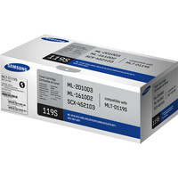 Samsung MLT-D119S Toner Cartridge - Black