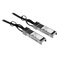 StarTech.com 5m Cisco Compatible SFP+ 10-Gigabit Ethernet (10GbE) Twinax Direct Attach Cable - Twinaxial for Network Device - 5m - 1 Pack - 1 x SFF-8431 SFP+ - 1 x S