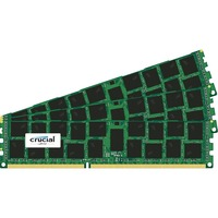Crucial RAM Module - 48 GB (3 x 16 GB) - DDR3 SDRAM - 1600 MHz DDR3-1600/PC3-12800 - 1.35 V - ECC - Registered - CL11 - 240-pin - DIMM