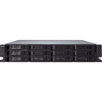 Buffalo TeraStation TS-2RZS08T04D 12 x Total Bays Network Storage Server - 2U - Rack-mountable - Intel Xeon E3-1225 Quad-core (4 Core) 3.10 GHz - 8 TB HDD (4 x 2 TB)