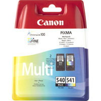 Canon PG-540/CL-541 Ink Cartridge - Black, Cyan, Magenta, Yellow