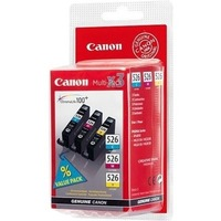 Canon CLI-526 C/M/Y Ink Cartridge - Cyan, Magenta, Yellow