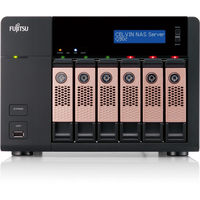 Fujitsu CELVIN Q902 6 x Total Bays Network Storage Server - Tower - Intel Atom2.10 GHz - 18 TB HDD (6 x 3 TB) - 2 GB RAM DDR3 SDRAM - RAID Supported 0, 1, 5, 6, 10,