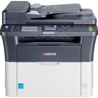 Kyocera Ecosys FS-1325MFP Laser Multifunction Printer - Monochrome - Plain Paper Print - Desktop