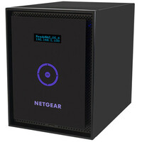 Netgear ReadyNAS 316 6 x Total Bays Network Storage Server - Desktop - Intel Atom Dual-core (2 Core) 2.10 GHz - 6 TB HDD (6 x 1 TB) - 2 GB RAM - RAID Supported X-RAI