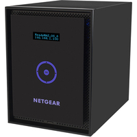 Netgear ReadyNAS 316 6 x Total Bays Network Storage Server - Desktop - Intel Atom Dual-core (2 Core) 2.10 GHz - 12 TB HDD (6 x 2 TB) - 2 GB RAM - RAID Supported X-RA
