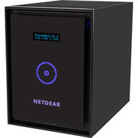 Netgear ReadyNAS 316 6 x Total Bays Network Storage Server - Desktop - Intel Atom Dual-core (2 Core) 2.10 GHz - 24 TB HDD (6 x 4 TB) - 2 GB RAM - RAID Supported X-RA