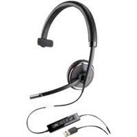 Plantronics Blackwire C510-M Wired Mono Headset - Over-the-head - Supra-aural