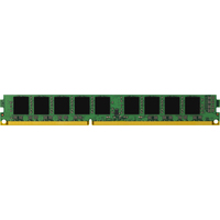 Kingston ValueRAM RAM Module - 8 GB - DDR3 SDRAM - 1333 MHz - 1.35 V - ECC - Unbuffered - CL9 - 240-pin - DIMM