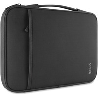 "Belkin Carrying Case (Sleeve) for 27.9 cm (11"") MacBook Air, Notebook, Tablet - Black - Wear Resistant, Tear Resistant - Neoprene - Handle"