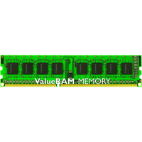 Kingston ValueRAM RAM Module - 8 GB - DDR3 SDRAM - 1600 MHz DDR3-1600/PC3-12800 - 1.35 V - ECC - Registered - CL11 - 240-pin - DIMM