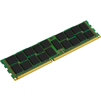 Kingston ValueRAM RAM Module - 4 GB (1 x 4 GB) - DDR3 SDRAM - 1600 MHz DDR3-1600/PC3-12800 - 1.50 V - ECC - Registered - CL11 - 240-pin - DIMM