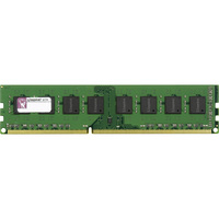 Kingston ValueRAM RAM Module - 4 GB (1 x 4 GB) - DDR3 SDRAM - 1600 MHz DDR3-1600/PC3-12800 - 1.35 V - ECC - Unbuffered - CL11 - 240-pin - DIMM