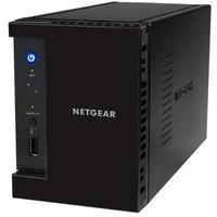 Netgear ReadyNAS 312 2 x Total Bays NAS Server - Desktop - Intel Atom Dual-core (2 Core) 2.10 GHz - 4 TB HDD (2 x 2 TB) Serial ATA SSD - 2 GB RAM - RAID Supported X-
