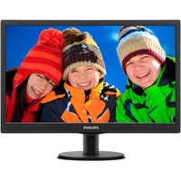 "Philips V-line 203V5LSB26 49.5 cm (19.5"") LED LCD Monitor - 16:9 - 5 ms"