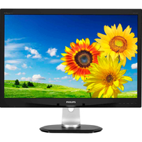 "Philips Brilliance 240P4QPYEB 61 cm (24"") LED LCD Monitor - 16:10 - 5 ms"