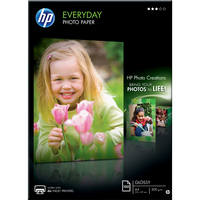 HP Everyday Q2510A Photo Paper - A4 - 210 mm x 297 mm - Semi Gloss, Textured - 100 x Sheet