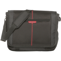 "Verbatim Berlin Carrying Case (Messenger) for 40.6 cm (16"") Notebook - Black"