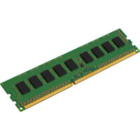 Kingston ValueRAM RAM Module - 8 GB (1 x 8 GB) - DDR3 SDRAM - 1600 MHz DDR3-1600/PC3-12800 - 1.35 V - ECC - Unbuffered - CL11 - 240-pin - DIMM