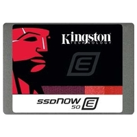 """Kingston SSDNow E50 480 GB 2.5"""" Internal Solid State Drive - SATA - 530 MB/s Maximum Read Transfer Rate - 500 MB/s Maximum Write Transfer Rate - 53000IOPS Random 4KB"""