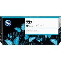 HP 727 Matte Black Ink Cartridge - 300mL