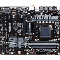 Gigabyte Ultra Durable 4 GA-970A-UD3P Desktop Motherboard - AMD 970 Chipset - Socket AM3+ - ATX - 1 x Processor Support - 32 GB DDR3 SDRAM Maximum RAM - O.C., 1.87 G