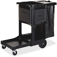 Rubbermaid Kingpin Janitor Cleaning Cart