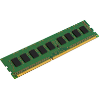 Kingston ValueRAM RAM Module - 8 GB (1 x 8 GB) - DDR3 SDRAM - 1600 MHz - 1.35 V - ECC - Unbuffered - CL11 - 240-pin - DIMM