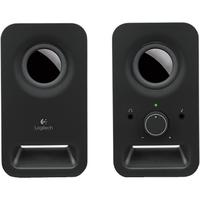Logitech Z150 2.0 Speaker System - Midnight Black - iPod Supported