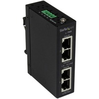 StarTech.com Industrial 2 Port Gigabit PoE+ Power over Ethernet Injector 48V / 30W - Wall-Mountable