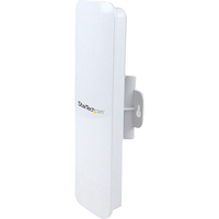 StarTech.com Outdoor 150 Mbps 1T1R Wireless-N Access Point - 2.4GHz 802.11b/g/n PoE-Powered WiFi AP - 1 x Antenna(s) - 2 x Network (RJ-45) - Pole-mountable, Wall Mou
