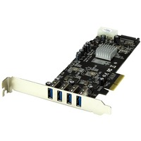 StarTech.com 4 Port PCI Express PCIe SuperSpeed USB 3.0 Card Adapter
