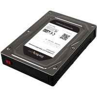 "StarTech.com 2.5"" to 3.5"" SATA Aluminum Hard Drive Adapter Enclosure with SSD/HDD Height up to 12.5mm - 1 x Total Bay"