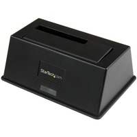 StarTech.com USB 3.0 SATA III Hard Drive Docking Station SSD / HDD with UASP - 1 x Total Bay