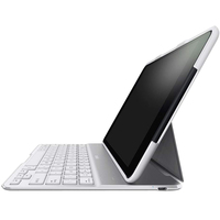 Belkin QODE Keyboard/Cover Case Folio for iPad Air - White