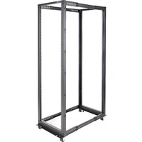 StarTech.com 42U Adjustable Depth Open Frame 4 Post Server Rack Cabinet - 600 kg x Static/Stationary Weig