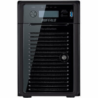 Buffalo TeraStation WS5600DWR2 6 x Total Bays NAS Server - Tower - Intel Atom D2700 Dual-core (2 Core) 2.13 GHz - 12 TB HDD (6 x 2 TB) - 4 GB RAM DDR3 SDRAM - Serial