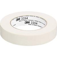 3M Paper Masking Tape 1inch x 60 Yds Tan MMM221424X55