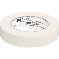 "3M™ Paper Masking Tape, 1 1/2"" x 60 Yds, Tan - 1.42"" Width x 60 yd Length - 3"" Core - Crepe Paper Backing - Pressure Sensitive, Easy Tear, Residue-free - 24 Roll - Tan MMM221436X55"